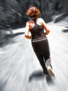 sprinting for skinny