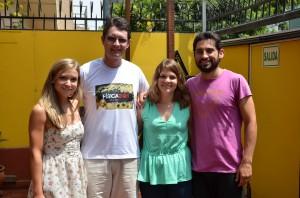 My fellow students and maestro Rolando
